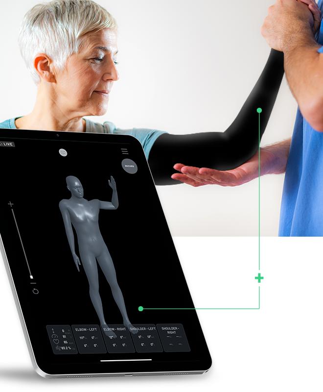 Arm BioSleeve and Digital Mirror